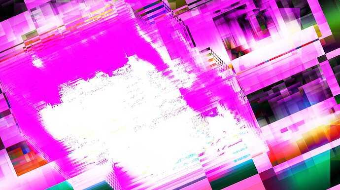 glitchpurplelight