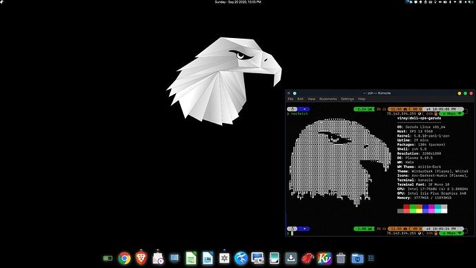 Garuda Desktop