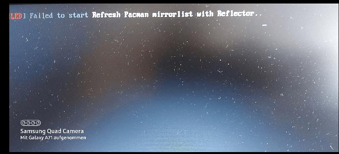 Meldung packman Reflector