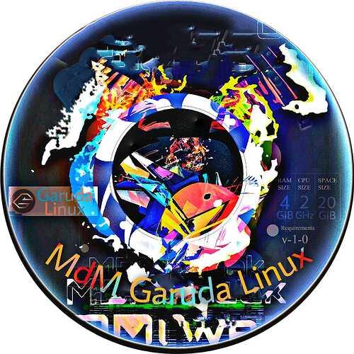 MdM-Garuda-Linux-Bluemetal