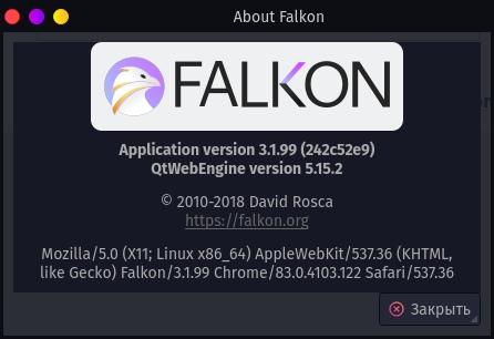 falkon about
